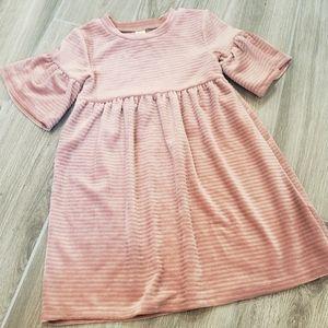 Harper Canyon pink velvet dress 3T